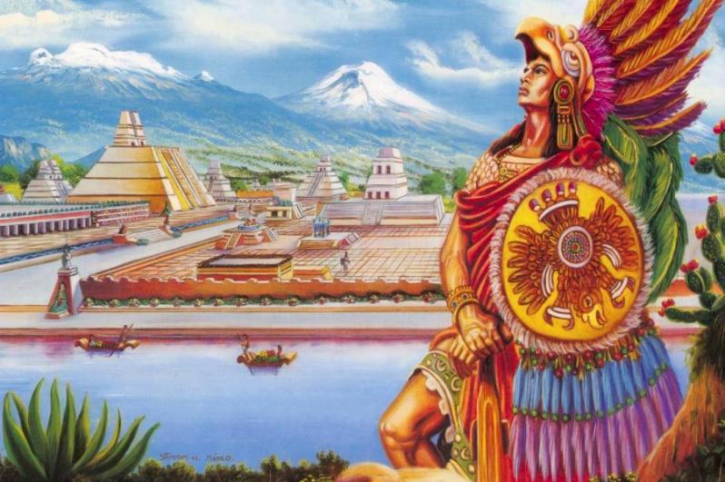 Ученые рассказали, что погубило цивилизацию ацтеков