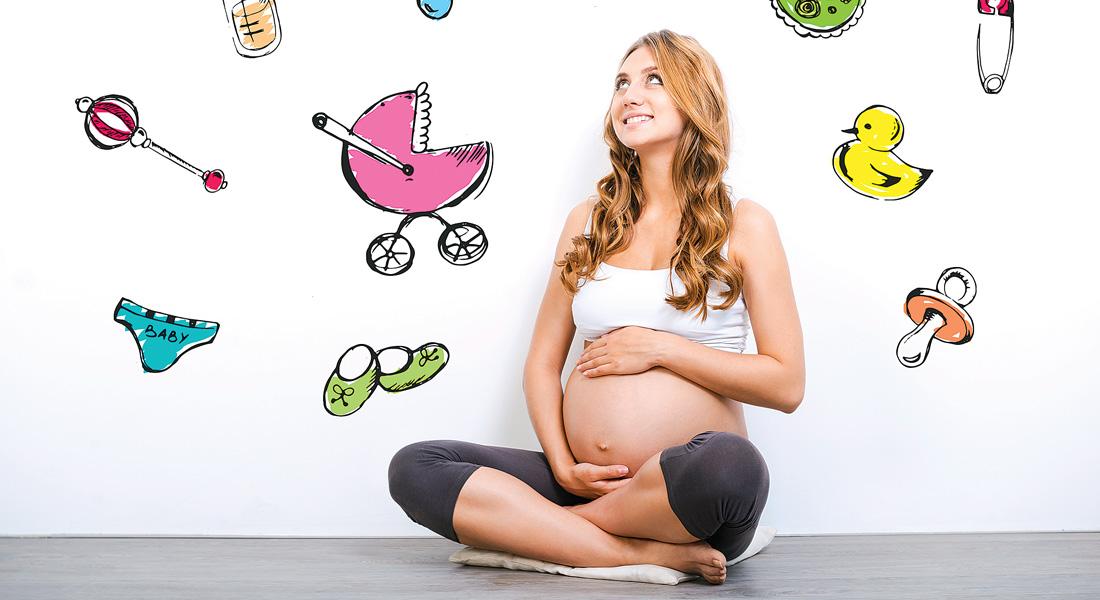 Беременная мама на обследовании